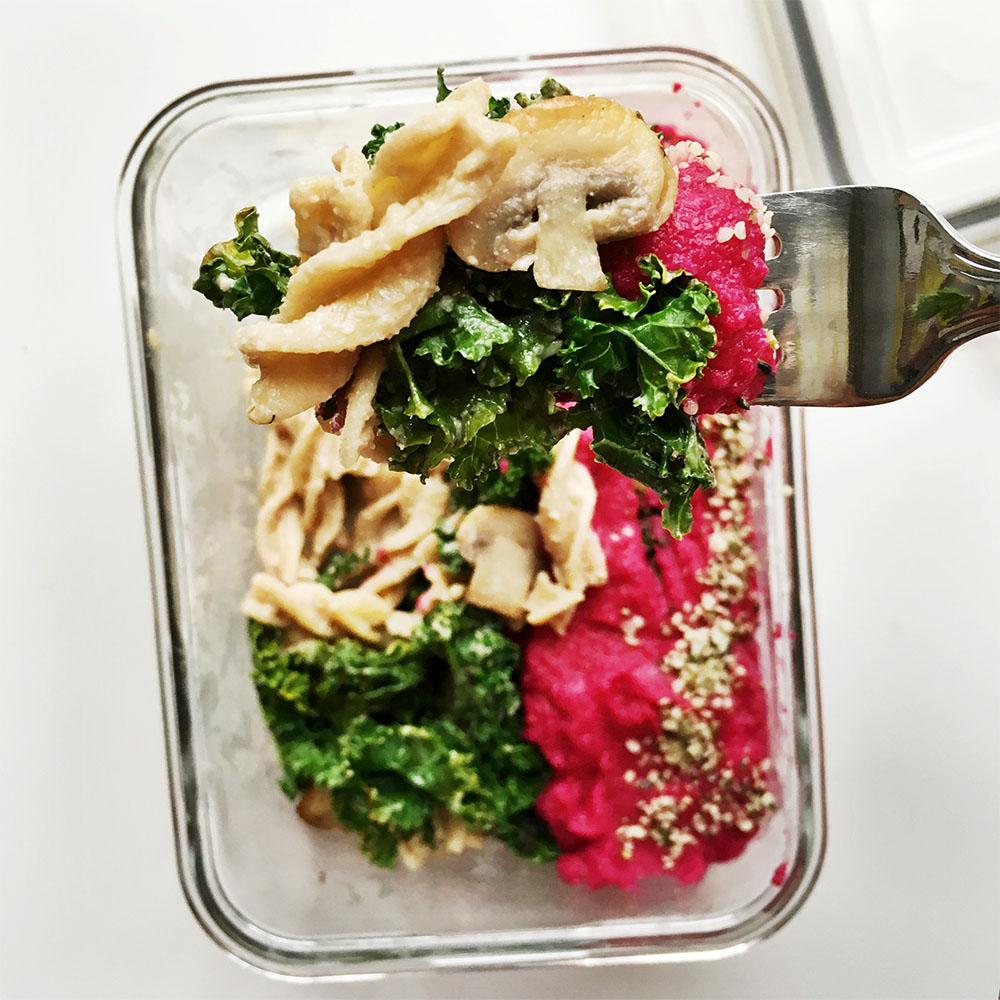 Kale Chickpea Mushroom 1