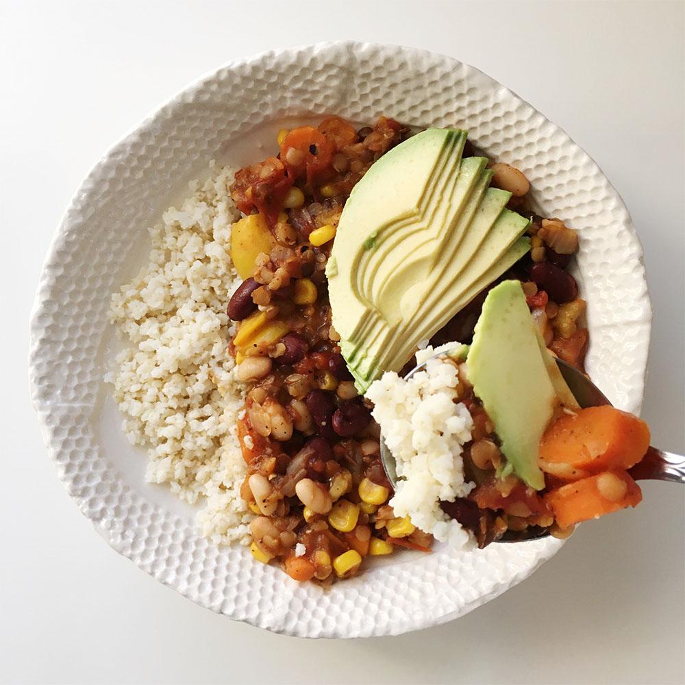Lentil Vegetarian Chili 1