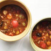 Lentil Vegetable Soup + Decreasing Food Waste