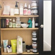 Beauty Product Shelfie
