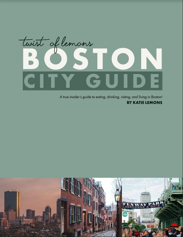 Boston City Guide by Katie Lemons